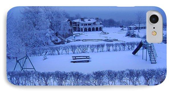 Winter Playground IPhone Case
