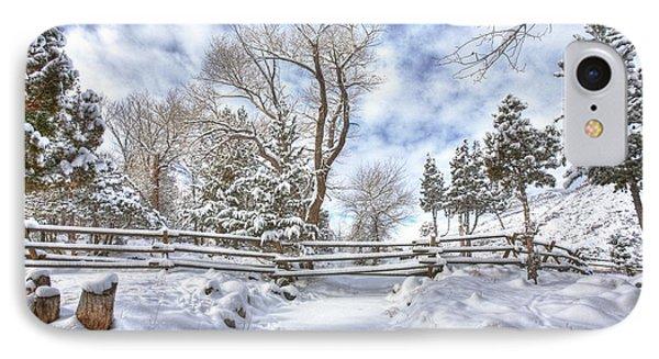 Winter Radiance IPhone Case