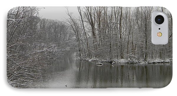 Winter Reflections 1 IPhone Case