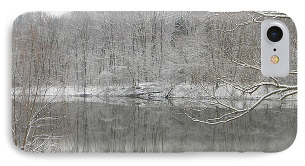 Winter Reflections 2 IPhone Case