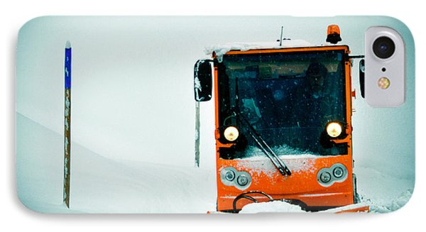 Winter Road Clearance IPhone Case