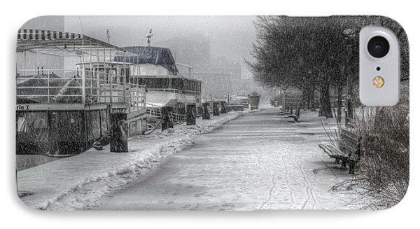 Winter Snow Storm II IPhone Case