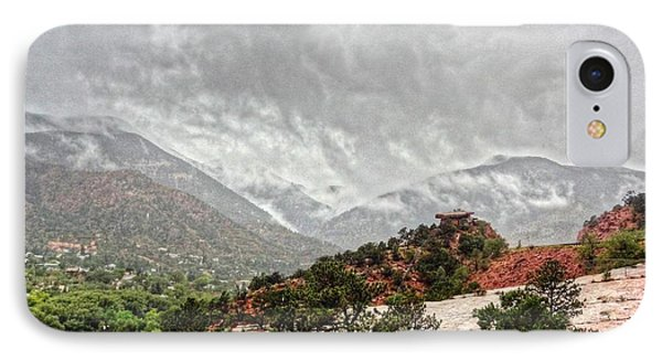 Winter Storm On A Summer Day IPhone Case