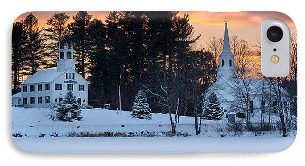 Winter Sunset IPhone Case