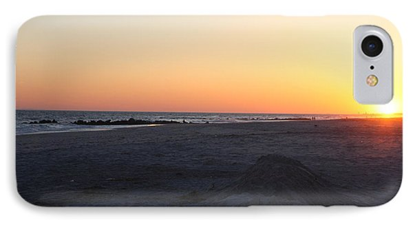 Winter Sunset On Long Beach IPhone Case