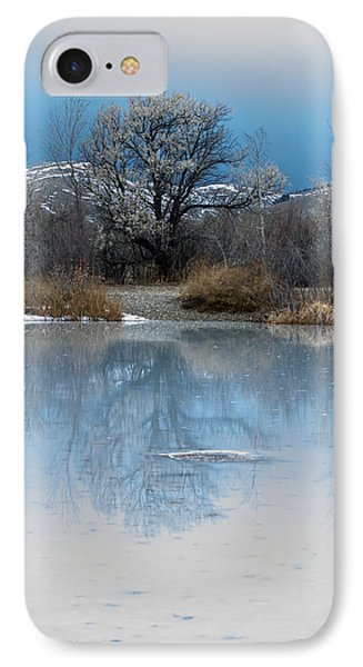 Winter Taking Hold IPhone Case