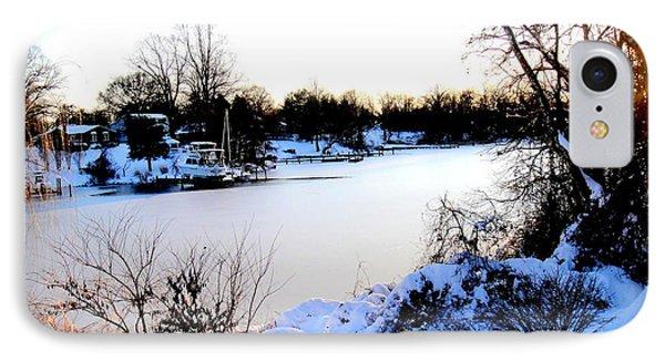 Winter Wonderland  In Maryland Usa IPhone Case