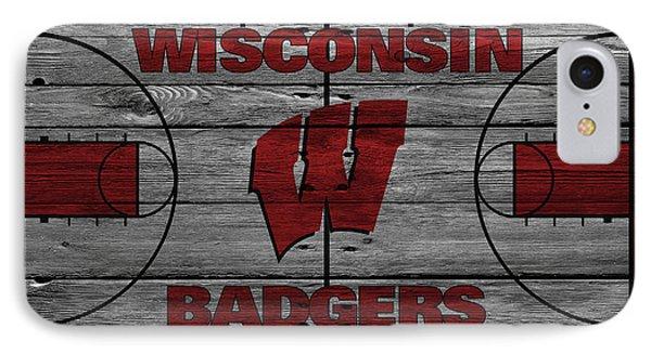 Wisconsin Badger IPhone Case