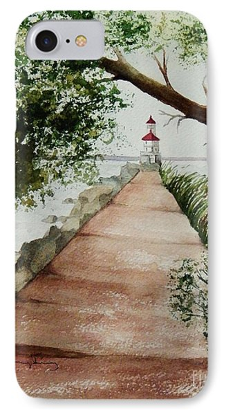 Wisconsin Point Lighthouse IPhone Case