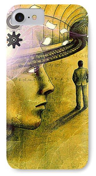 Wisdom Underground - Healing Through Understanding IPhone Case