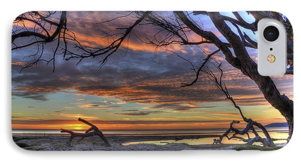 Wishing Branch Sunset IPhone Case