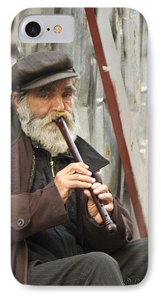Wistful Flute IPhone Case