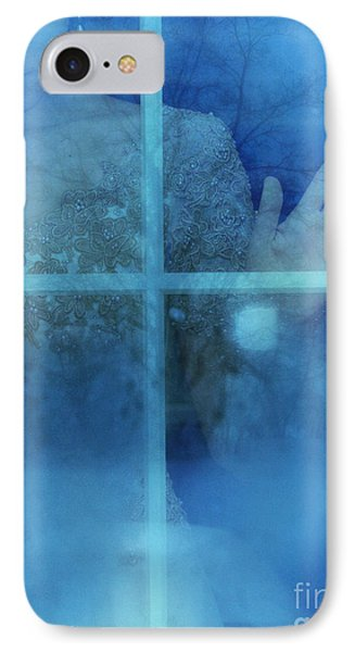 Woman At A Window IPhone Case