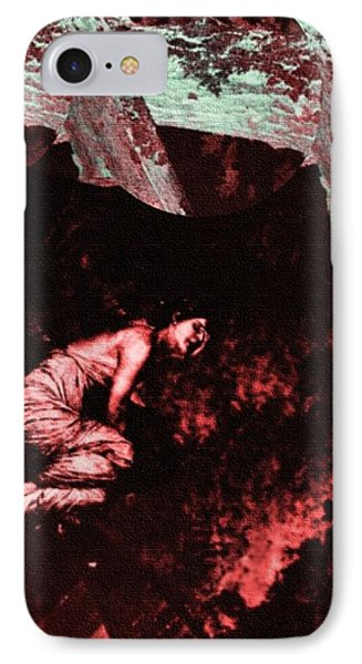 Woman Lost 2 IPhone Case