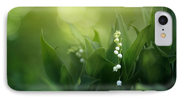Lily iPhone 8 Case - Wonders Of Spring Forest by Magda  Bognar