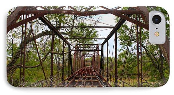 Woodburn Bridge Indianola Ms IPhone Case