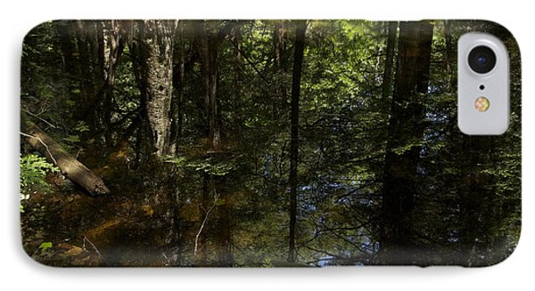 Wooded Reflection IPhone Case