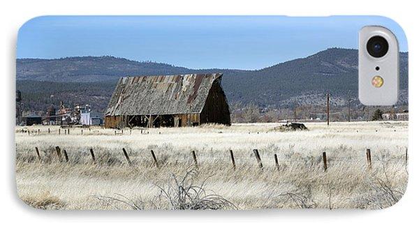 Wooden Barn Near Susanville IPhone Case