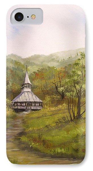 Wooden Church In Transylvania IPhone Case