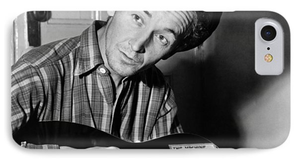 Woody Guthrie IPhone Case