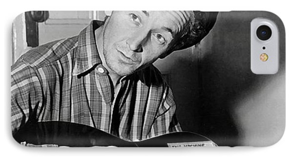 Woody Guthrie This Machine Kills Fascists IPhone Case