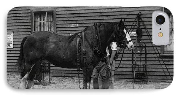 Work Horse IPhone Case
