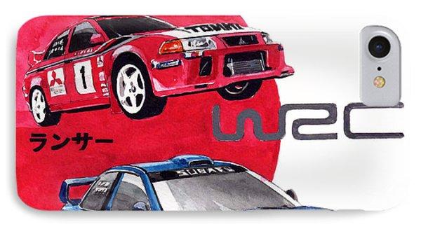 World Rallye Championship IPhone Case
