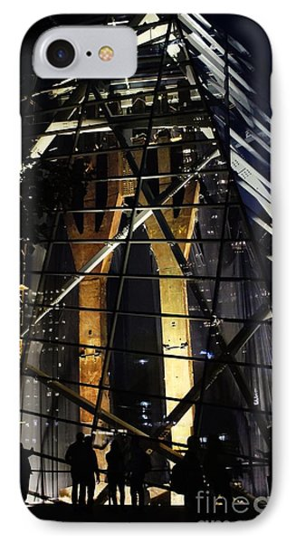 World Trade Center Museum At Night IPhone Case