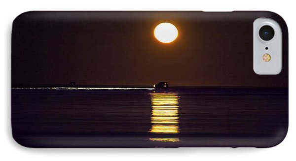 Worm Moon Rising IPhone Case