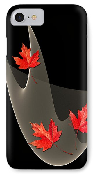 Woven Maple Leaves IPhone Case