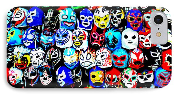 Wrestling Masks Of Lucha Libre Altered IPhone Case