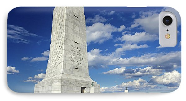 Wright Brothers Memorial D IPhone Case