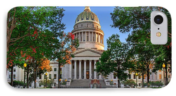 Wv Capitol As Dusk IPhone Case