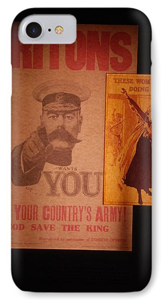 Ww1 Recruitment Posters IPhone Case