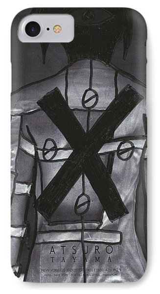 X Back Pop Graffiti IPhone Case