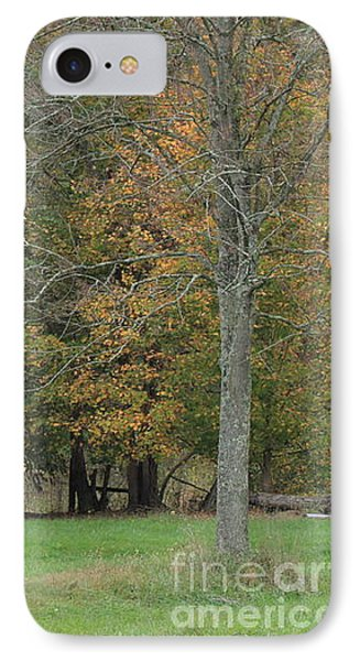 Ye Old Cabin In The Fall IPhone Case
