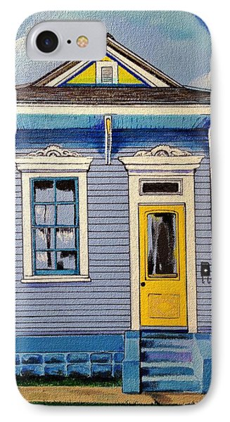 Yellow Door Shotgun  IPhone Case