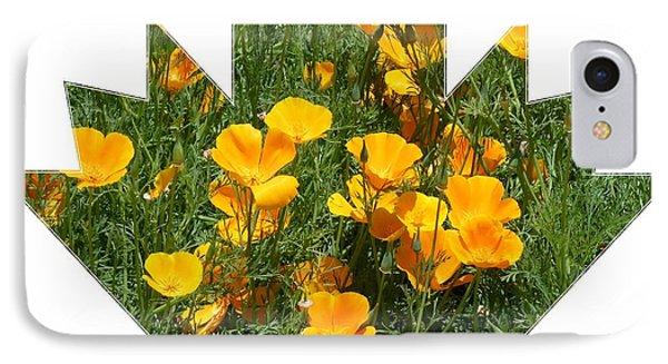 Yellow Garden Flowers IPhone Case