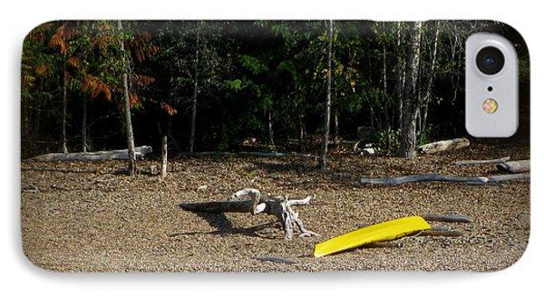 Yellow Kayak IPhone Case