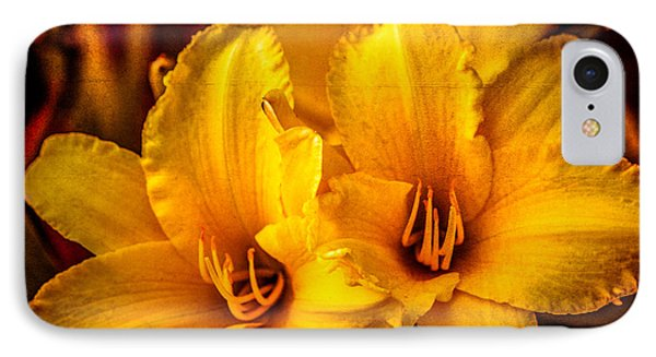 Yellow Lillies IPhone Case