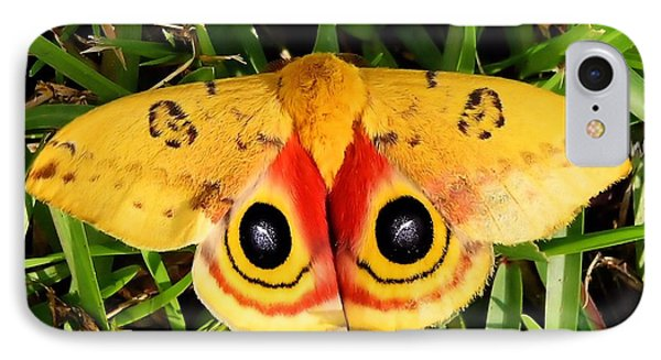 Yellow Moth IPhone Case