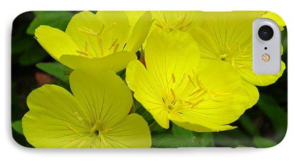 Yellow Primrose IPhone Case