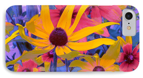 Fantasy Garden - Rudbeckia IPhone Case
