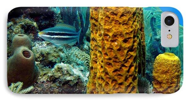 Yellow Tube Sponge IPhone Case