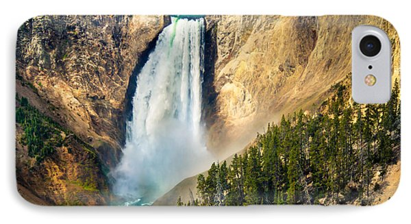 Yellowstone Lower Waterfalls IPhone Case