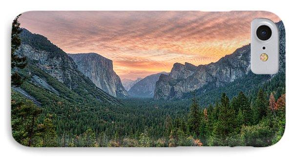 Yosemite Sunrise IPhone Case