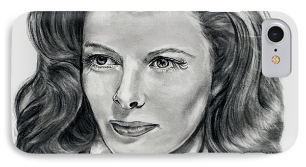 Young Katherine Hepburn IPhone Case
