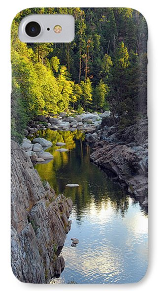 Yuba River Twilight IPhone Case