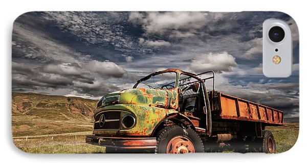 Truck iPhone 8 Case - Z 466 by ?orsteinn H. Ingibergsson