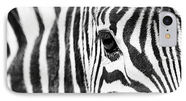 Zebra Gaze IPhone Case